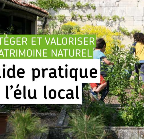 Un guide biodiversité pour les élus locaux!